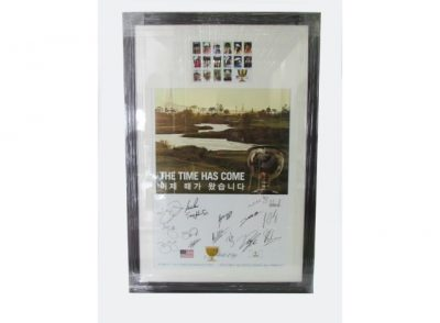Signed Framed Posters
